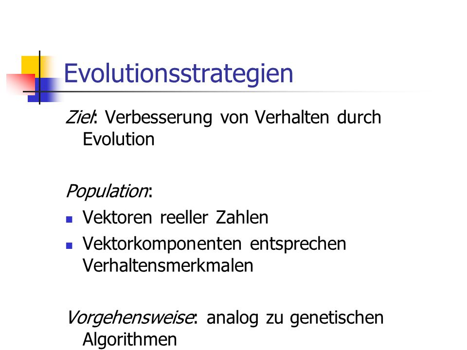Evolutionsstrategien