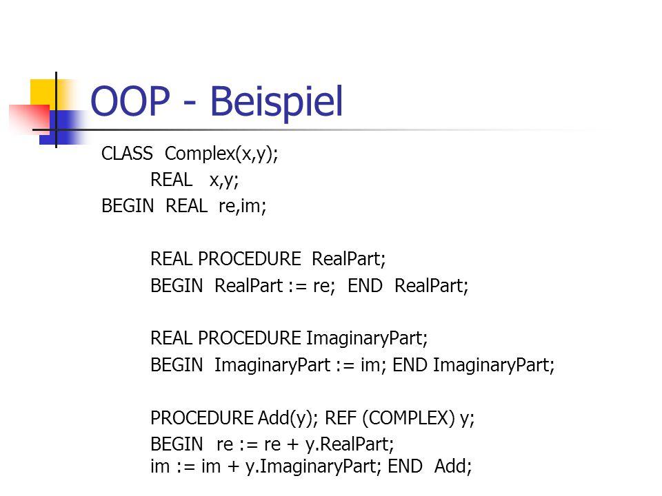 OOP - Beispiel