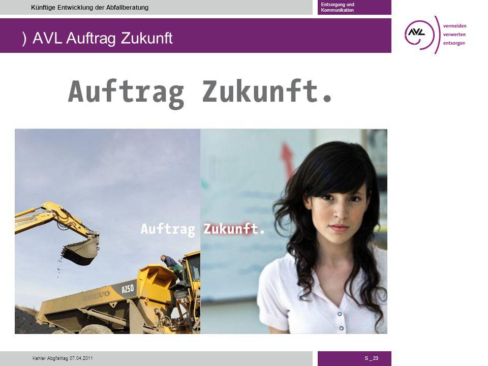 AVL Auftrag Zukunft Kehler Abgfalltag 07.04.2011