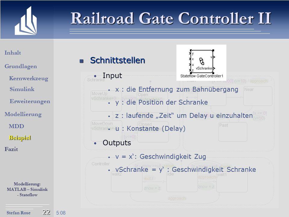 Railroad Gate Controller II