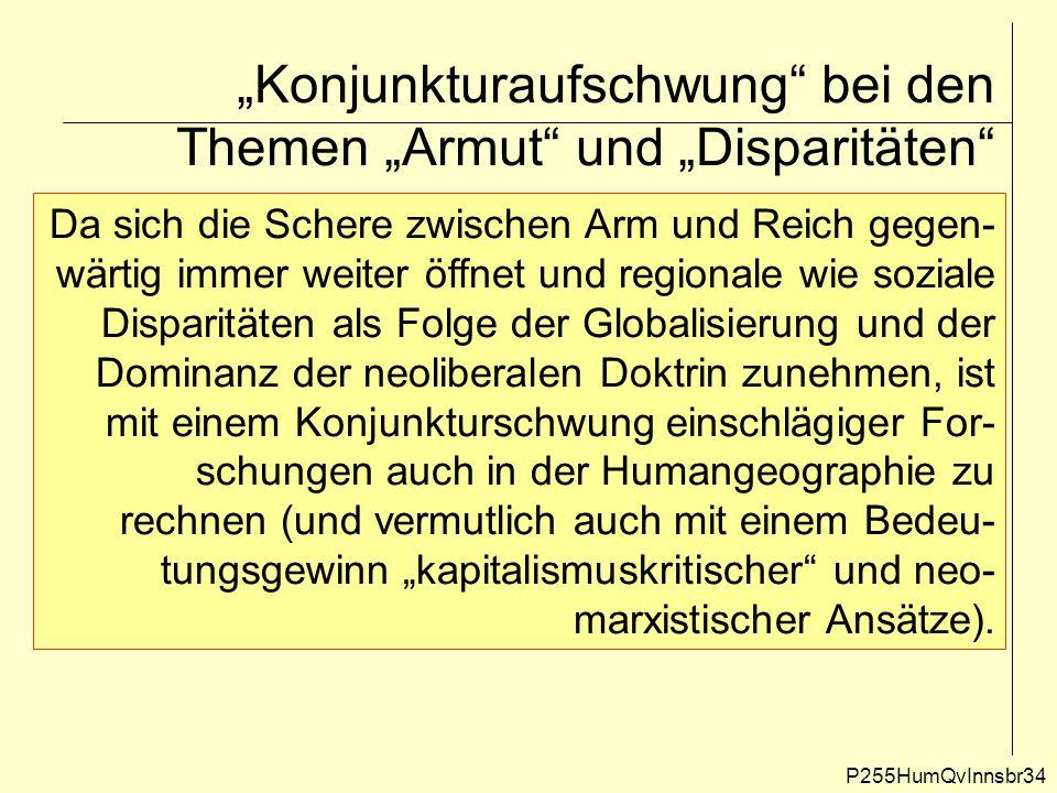 """""""Konjunkturaufschwung bei den Themen """"Armut und """"Disparitäten"""