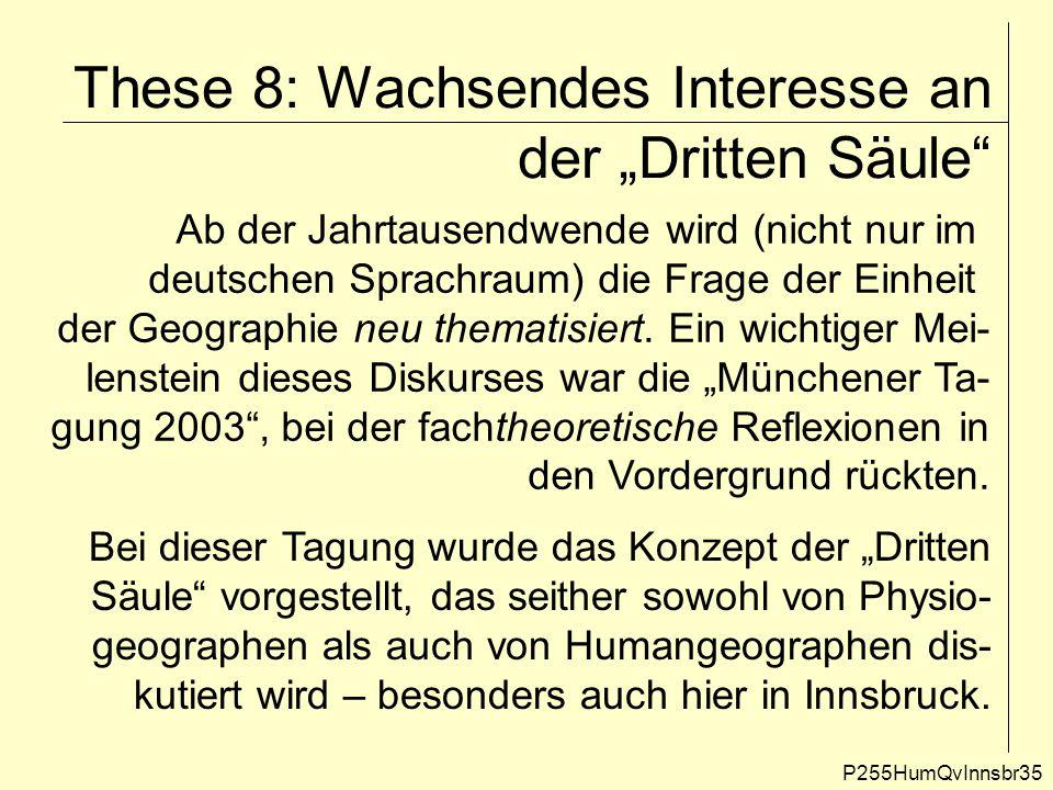 "These 8: Wachsendes Interesse an der ""Dritten Säule"