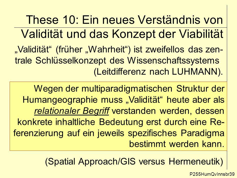 These 10: Ein neues Verständnis von Validität und das Konzept der Viabilität