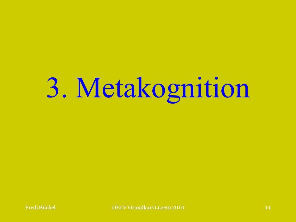 3. Metakognition Fredi Büchel DELV Grundkurs Luzern 2010