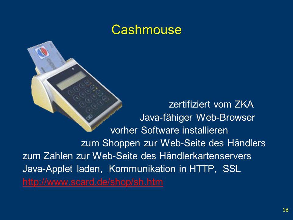 Cashmouse Java-fähiger Web-Browser vorher Software installieren
