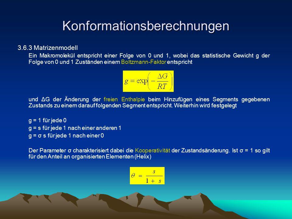 Konformationsberechnungen