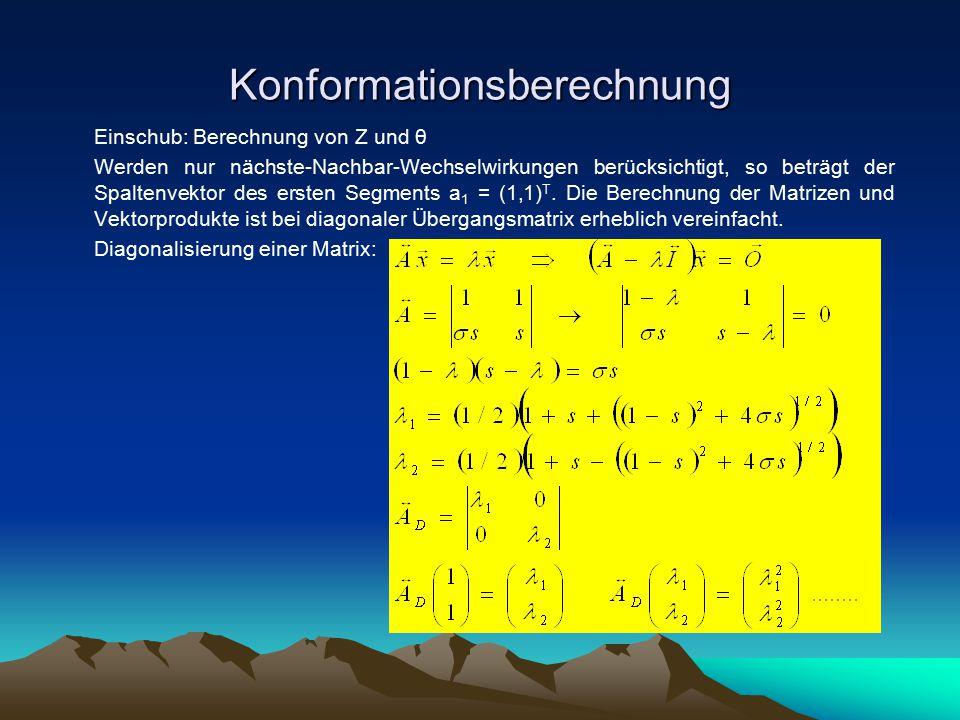 Konformationsberechnung