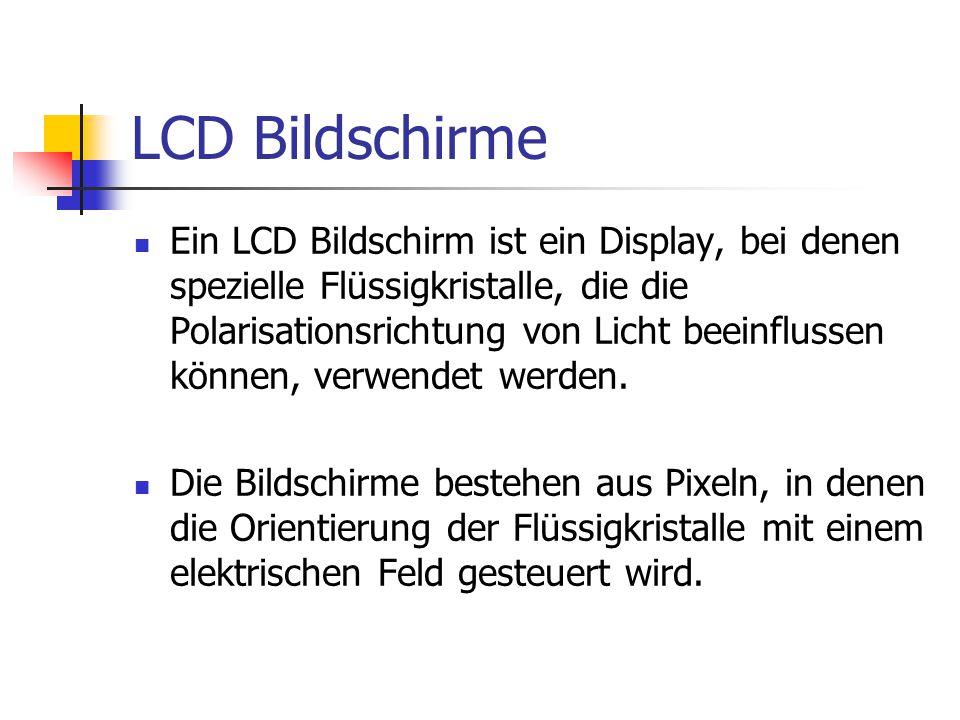 LCD Bildschirme