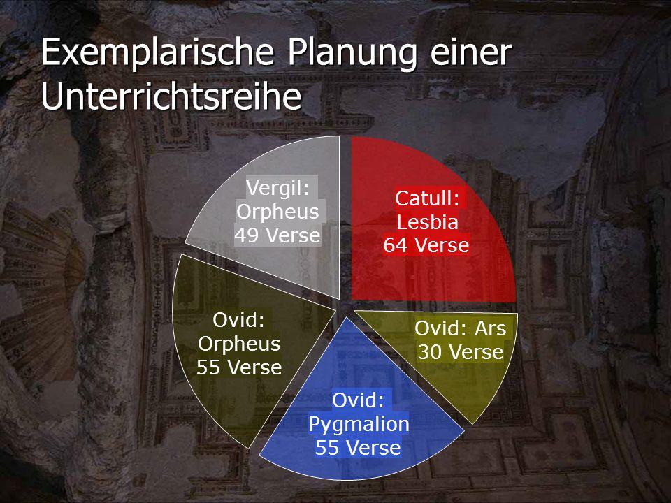 Exemplarische Planung einer Unterrichtsreihe
