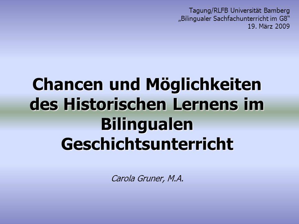 Tagung/RLFB Universität Bamberg