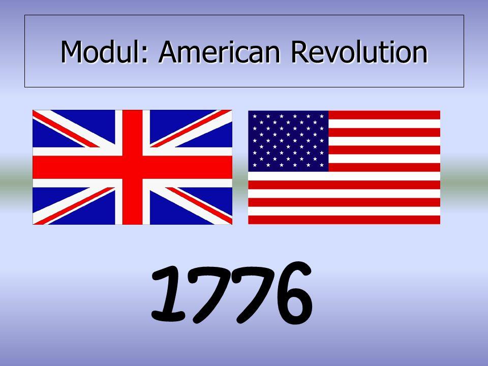 Modul: American Revolution