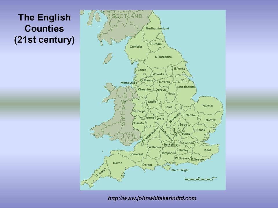 The English Counties (21st century) http://www.johnwhitakerintltd.com