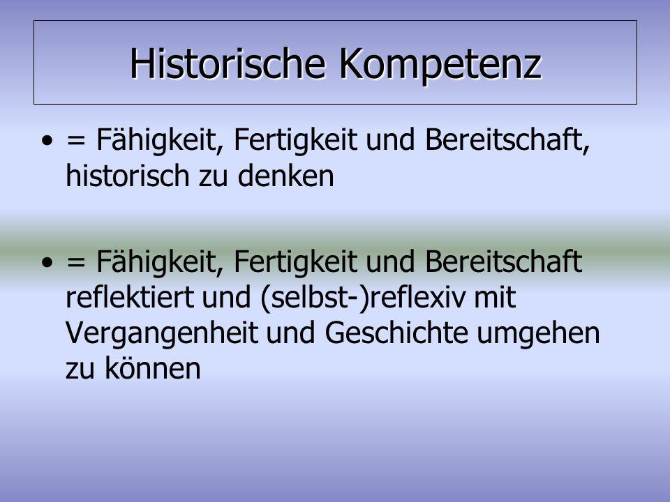 Historische Kompetenz