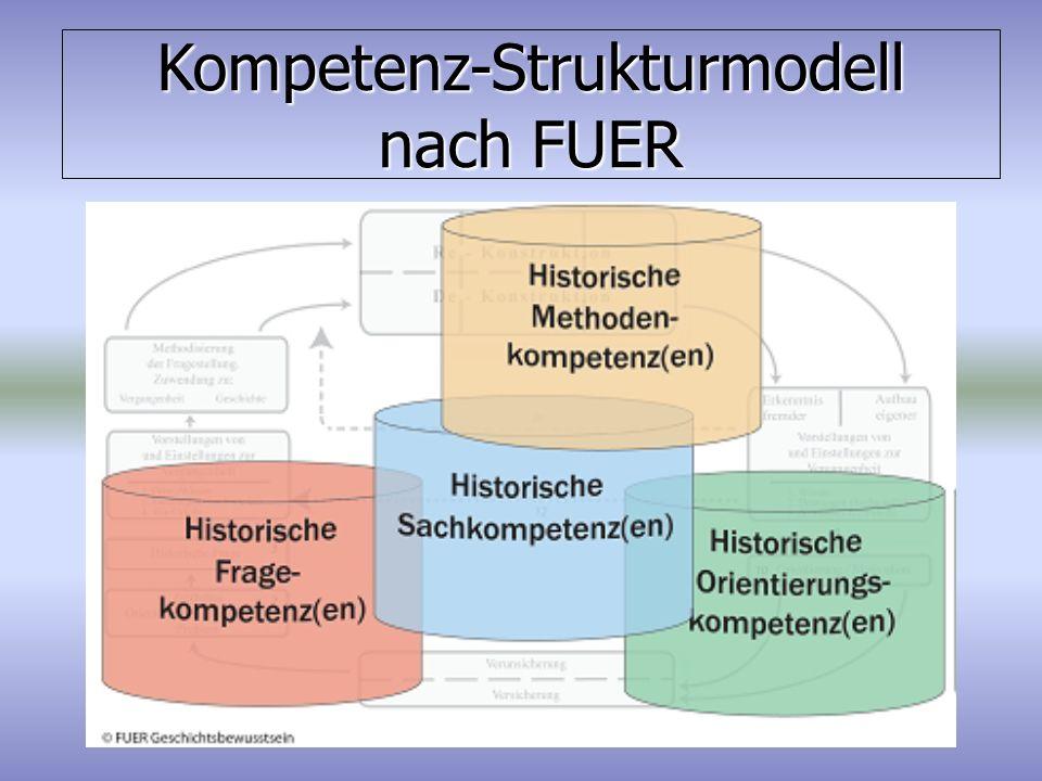 Kompetenz-Strukturmodell nach FUER