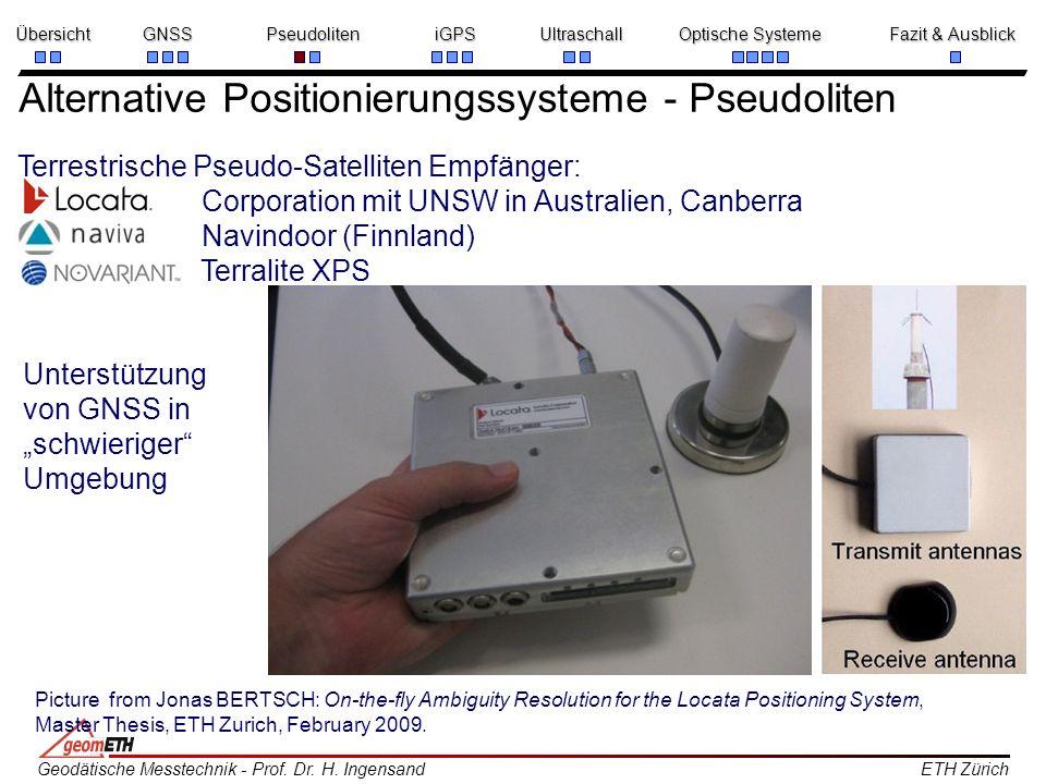 Alternative Positionierungssysteme - Pseudoliten