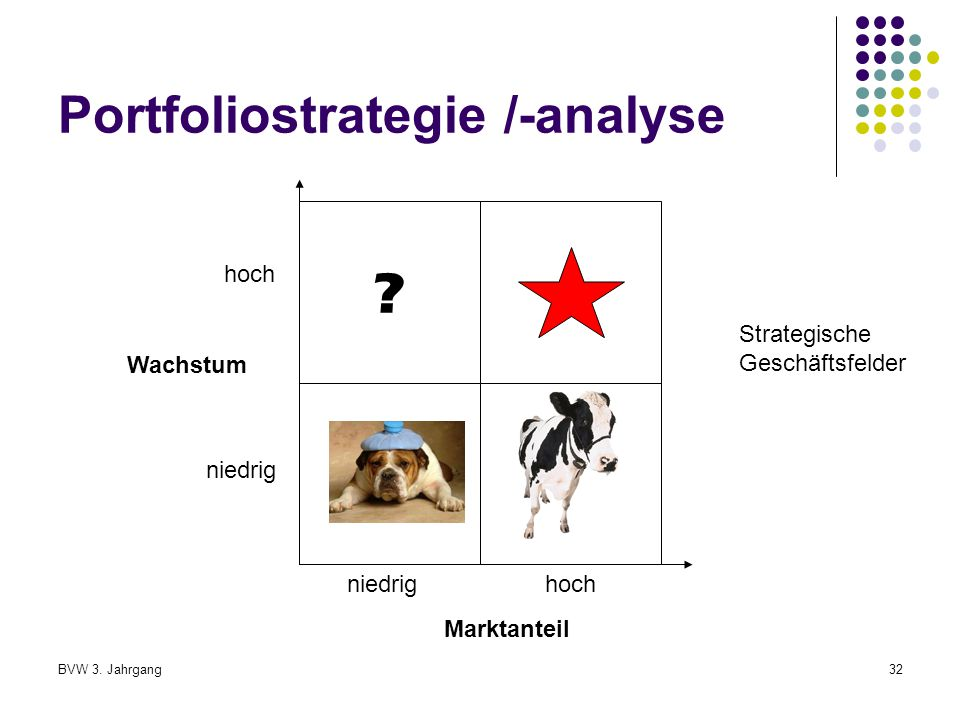 Portfoliostrategie /-analyse