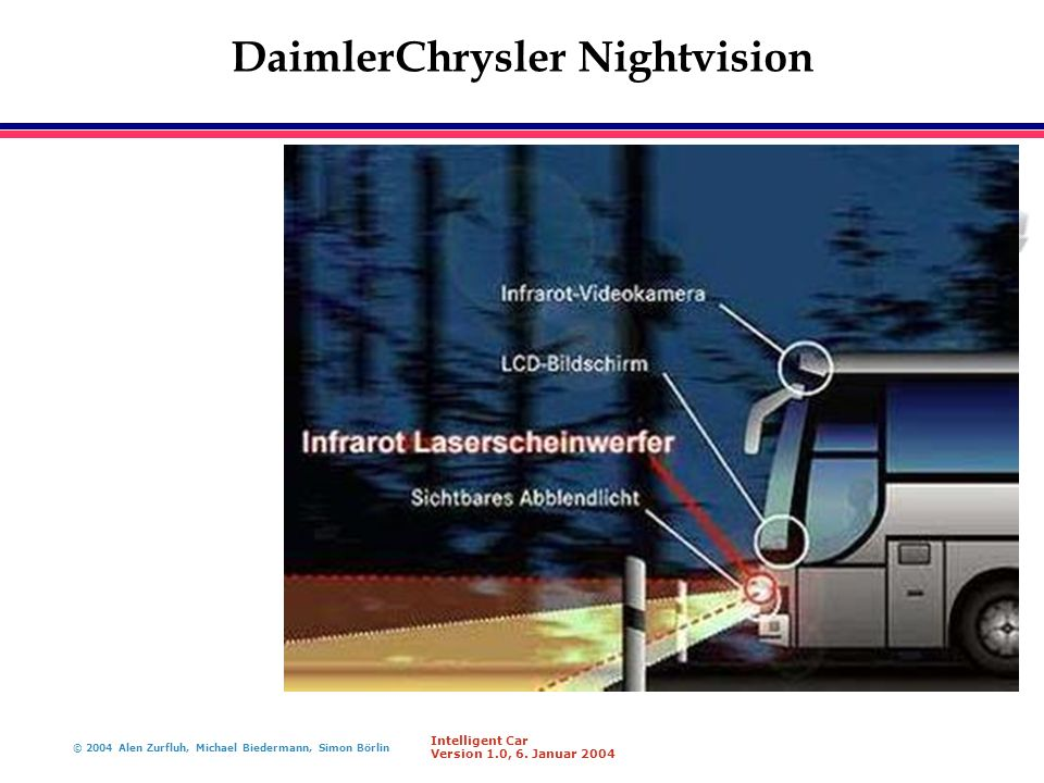 DaimlerChrysler Nightvision
