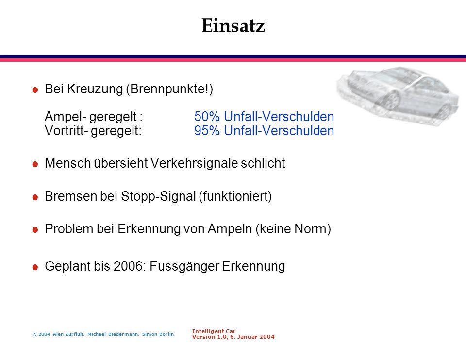 Einsatz Bei Kreuzung (Brennpunkte!) Ampel- geregelt : 50% Unfall-Verschulden Vortritt- geregelt: 95% Unfall-Verschulden.