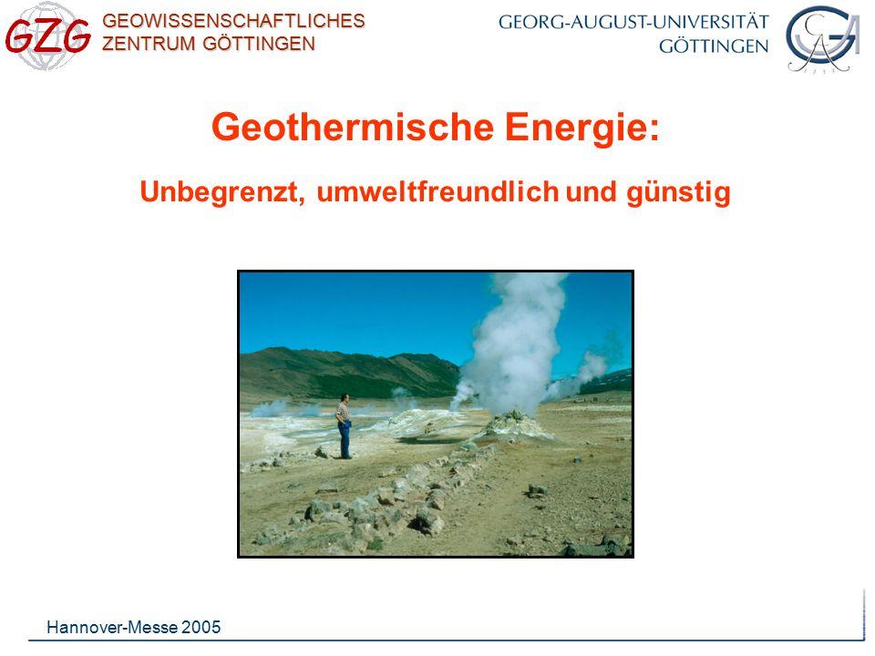 Geothermische Energie: