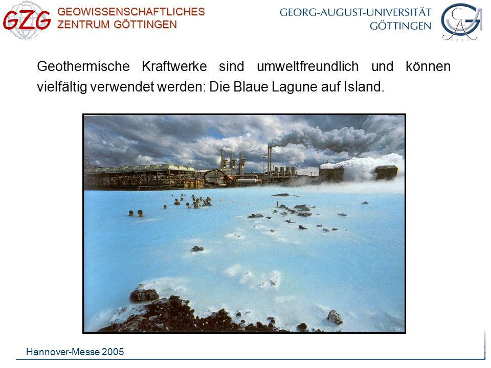 Geothermische Kraftwerke sind umweltfreundlich und können vielfältig verwendet werden: Die Blaue Lagune auf Island.