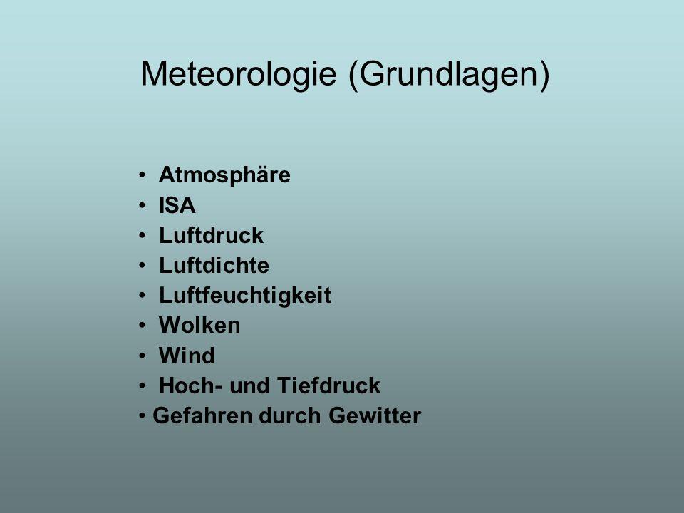Meteorologie (Grundlagen)