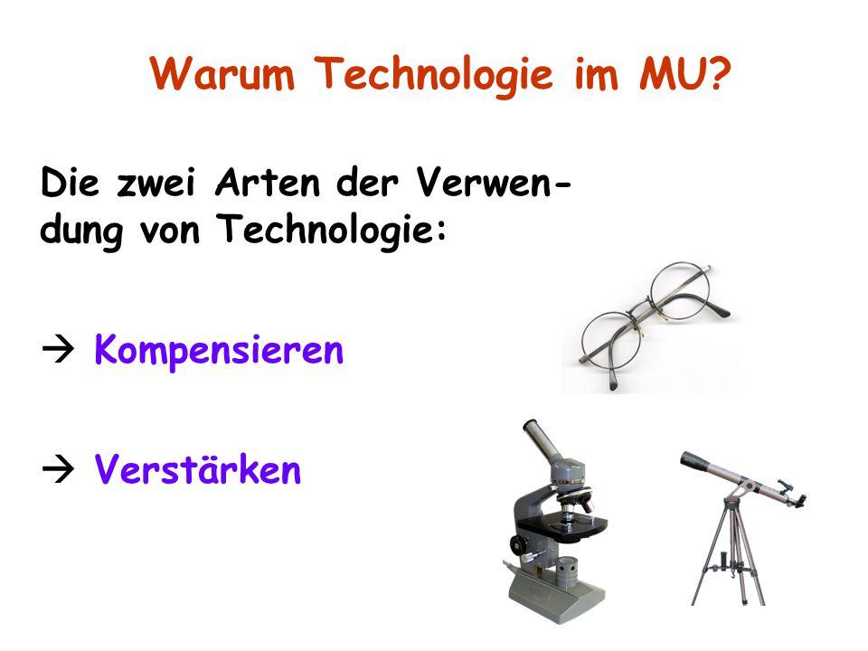 Warum Technologie im MU