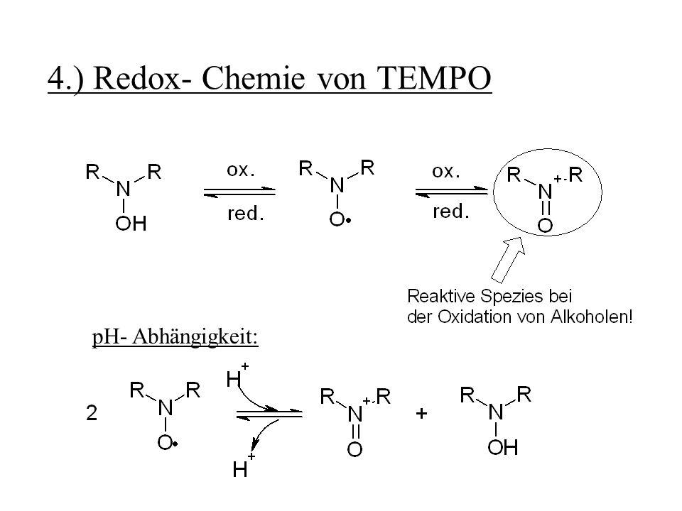 4.) Redox- Chemie von TEMPO