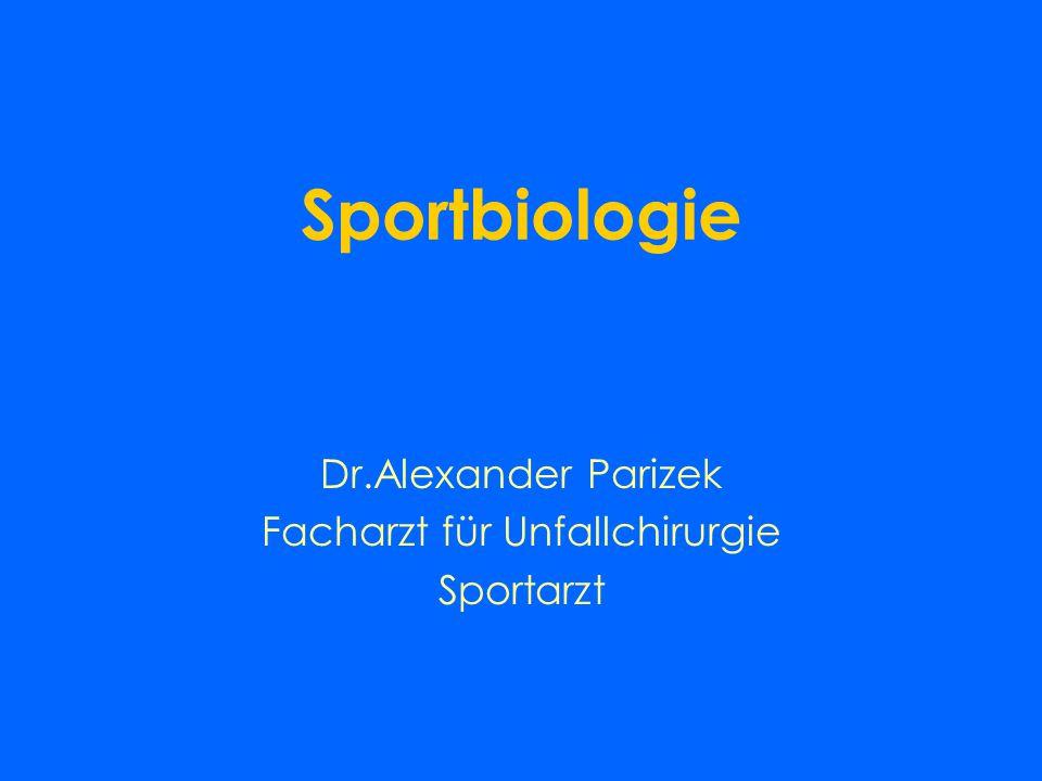 Dr.Alexander Parizek Facharzt für Unfallchirurgie Sportarzt