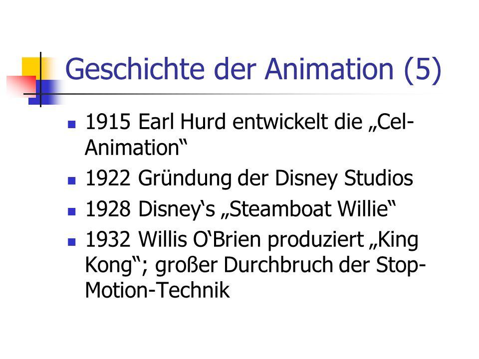 Geschichte der Animation (5)
