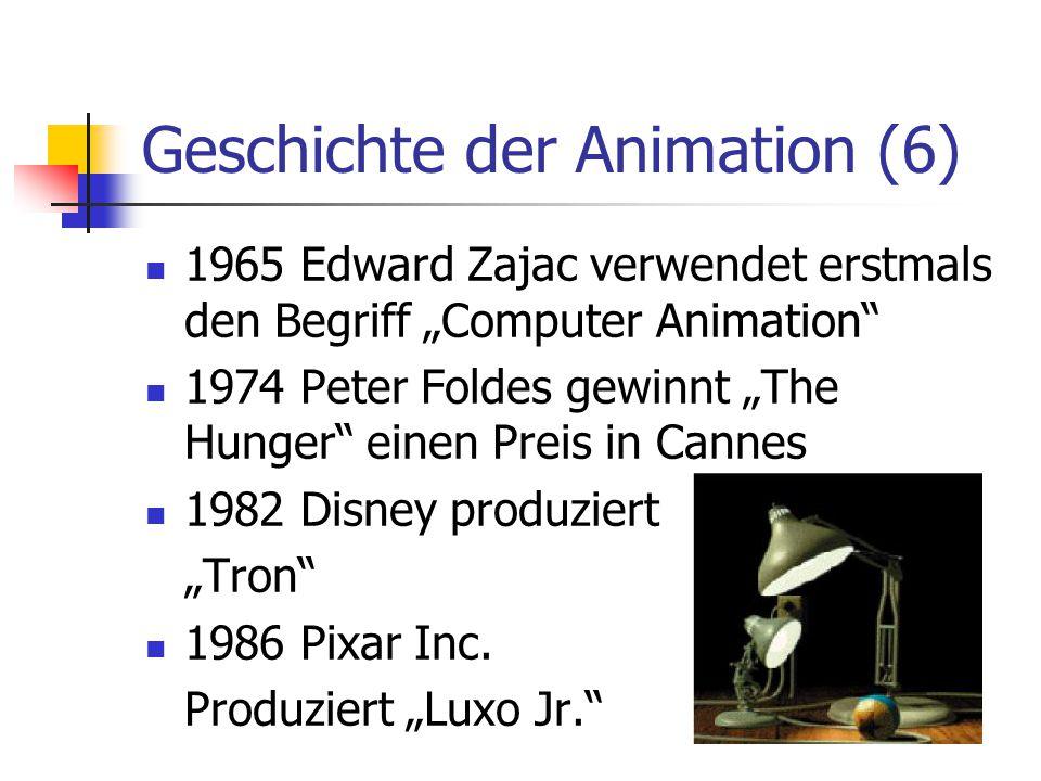 Geschichte der Animation (6)