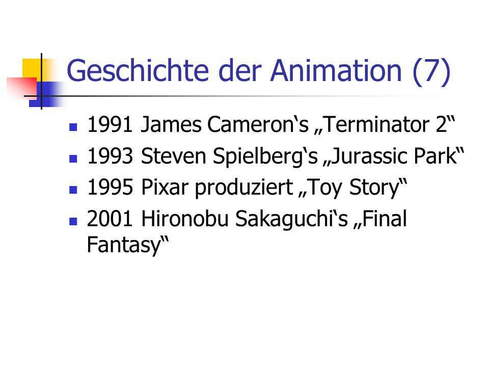 Geschichte der Animation (7)