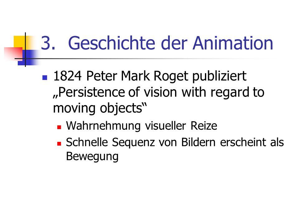 Geschichte der Animation