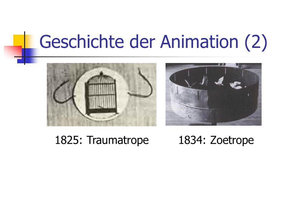 Geschichte der Animation (2)
