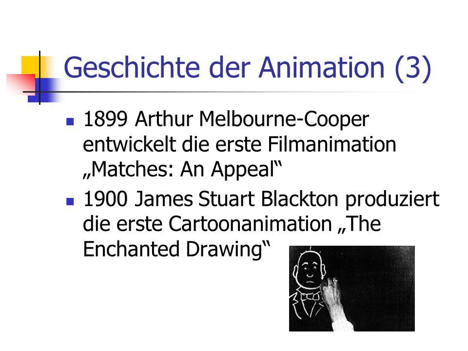 Geschichte der Animation (3)
