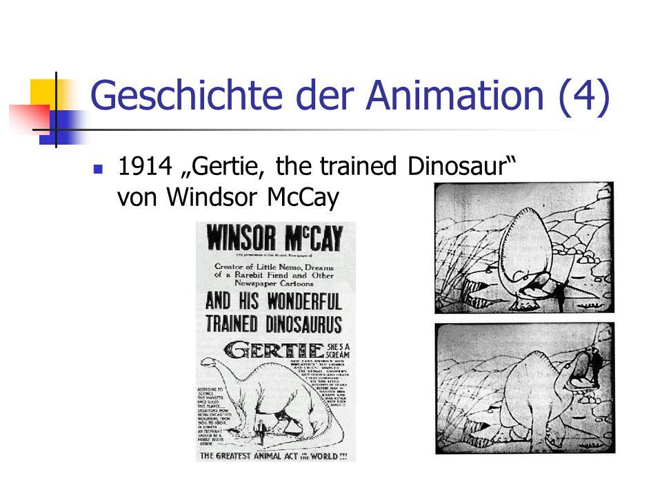 Geschichte der Animation (4)