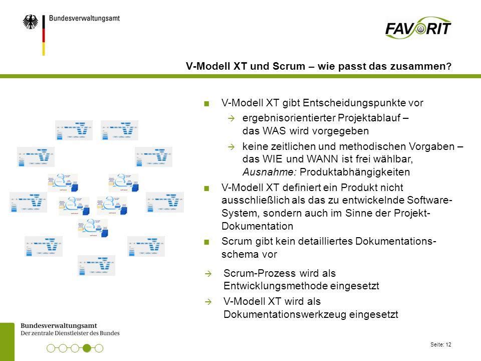 V-Modell XT und Scrum – wie passt das zusammen