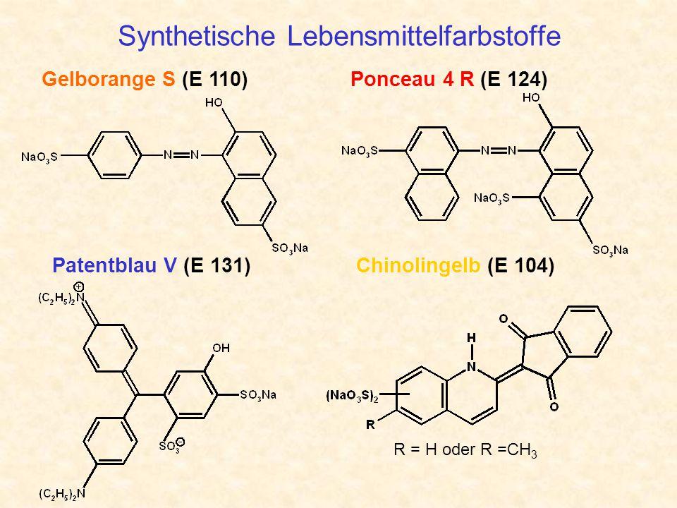 Synthetische Lebensmittelfarbstoffe