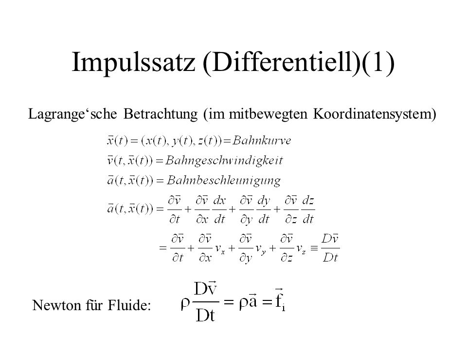 Impulssatz (Differentiell)(1)