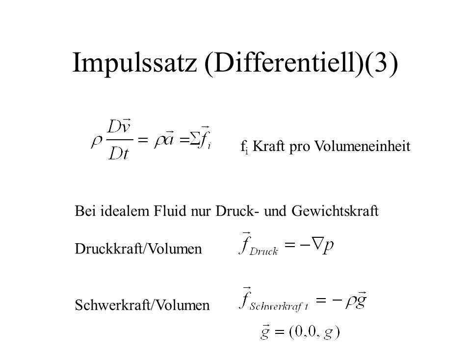 Impulssatz (Differentiell)(3)