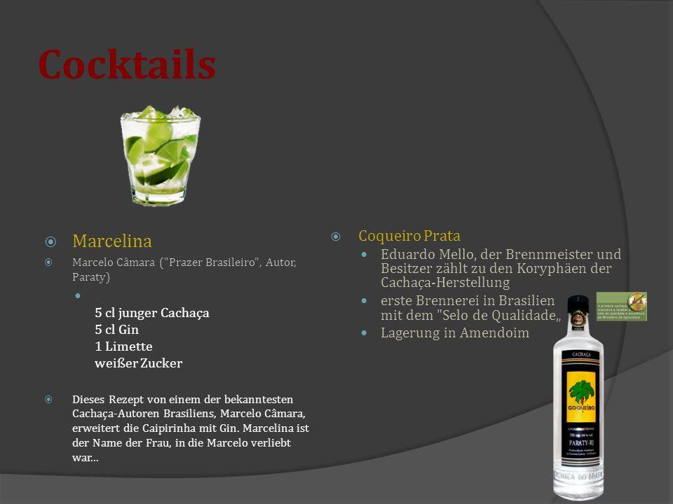 Cocktails Marcelina Coqueiro Prata