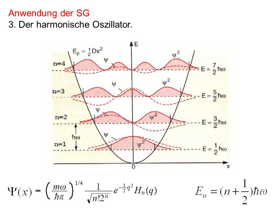 Anwendung der SG 3. Der harmonische Oszillator.