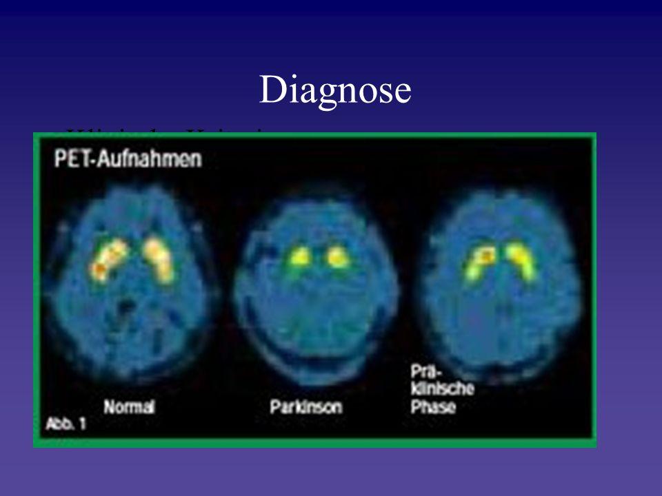 Diagnose Klinische Kriterien