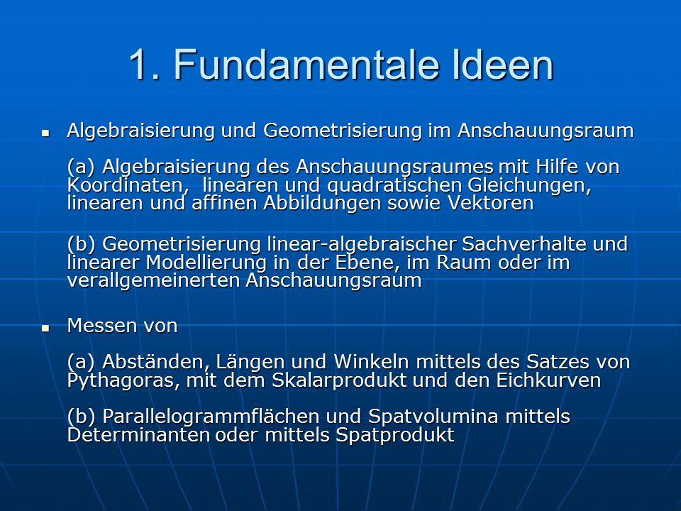 1. Fundamentale Ideen