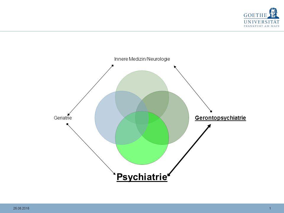 Was ist Gerontopsychiatrie: