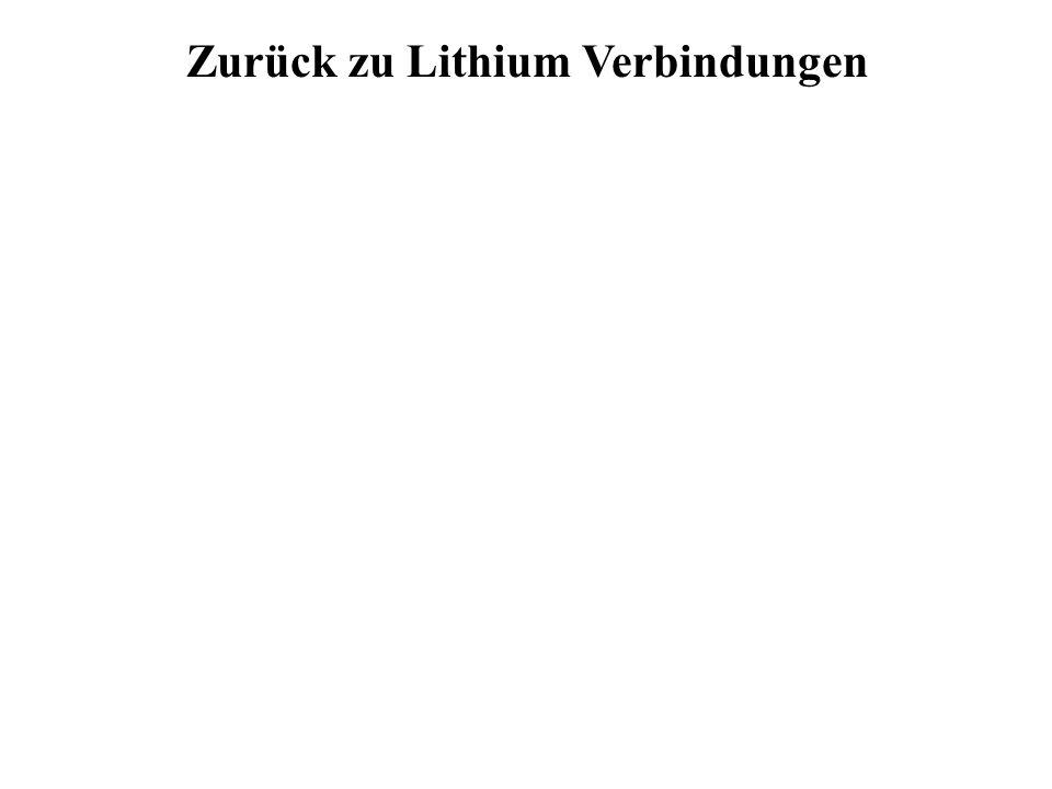 Zurück zu Lithium Verbindungen