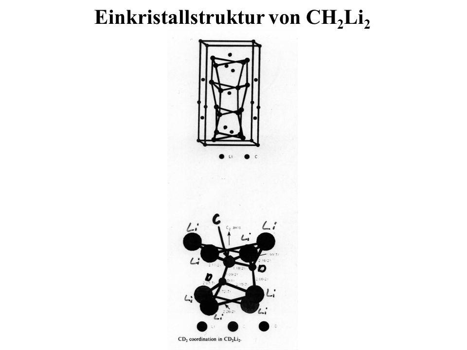 Einkristallstruktur von CH2Li2
