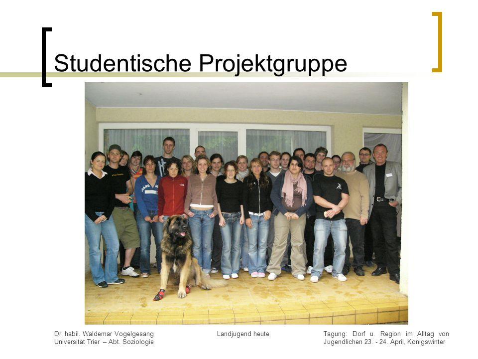 Studentische Projektgruppe