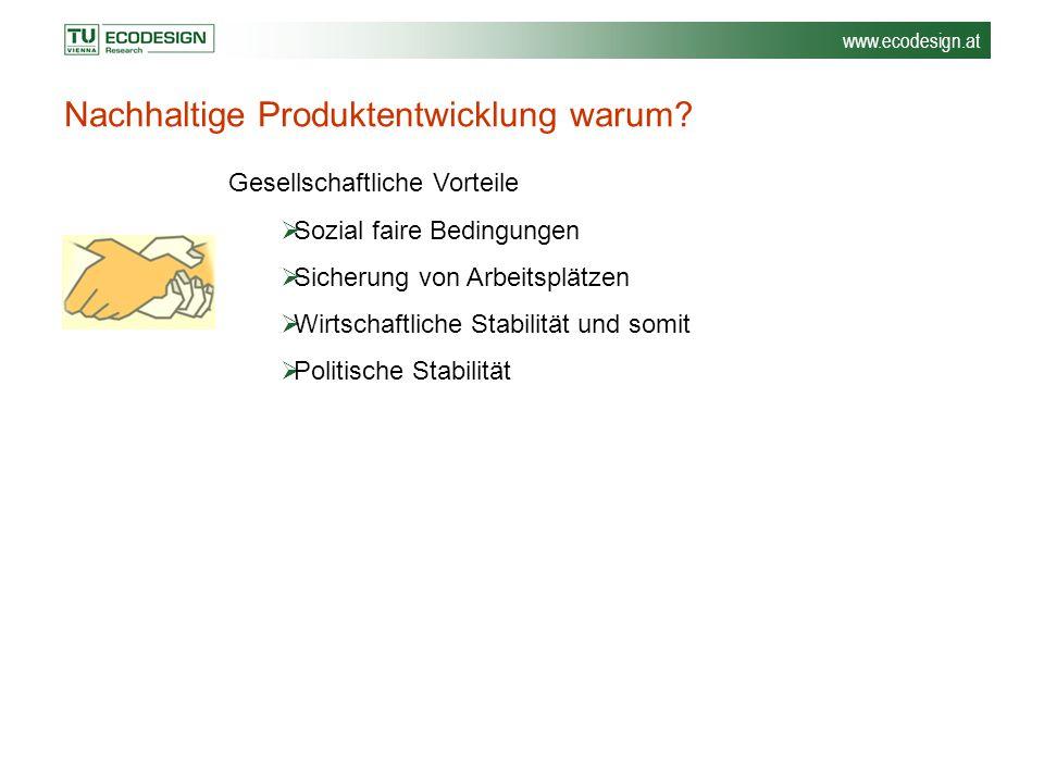 Nachhaltige Produktentwicklung warum