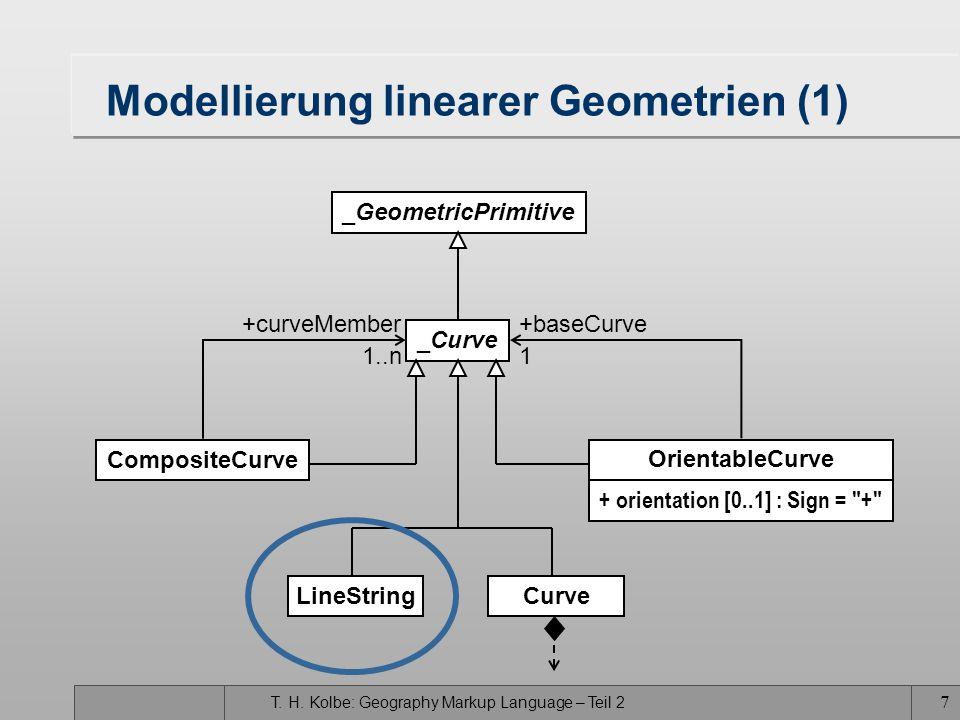 Modellierung linearer Geometrien (1)
