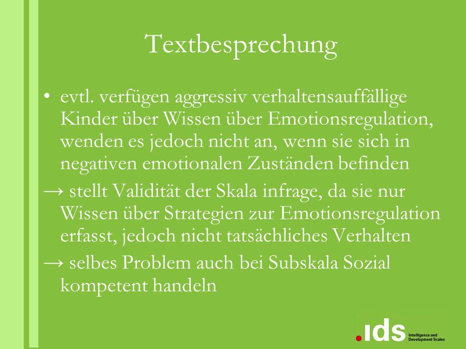 Textbesprechung